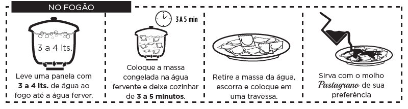 modo preparo massa recheada fogao